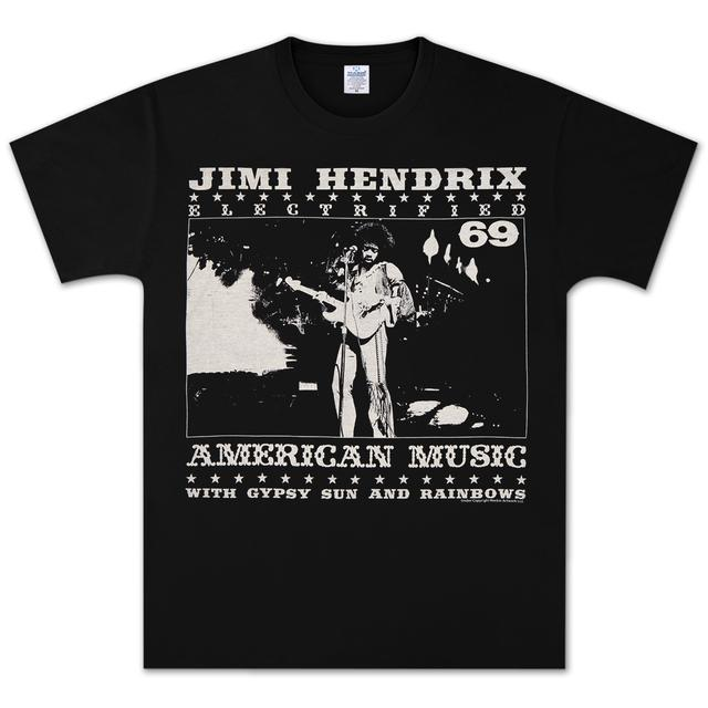 Jimi Hendrix On Stage T-Shirt