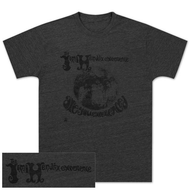 Jimi Hendrix: Are You Experienced MONO Charcoal T-Shirt