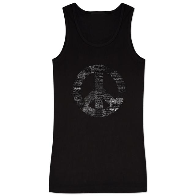Jimi Hendrix Hendrix Power To The People Ladies Tank