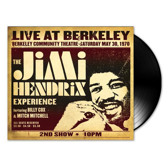 Jimi Hendrix Experience: Live At Berkeley 2-LP (Vinyl)