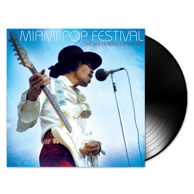 The Jimi Hendrix Experience: Miami Pop Festival LP (Vinyl)