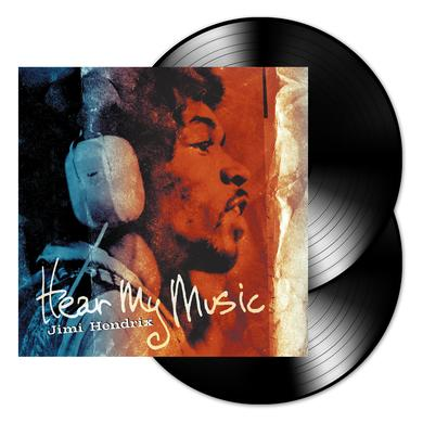 Jimi Hendrix Hear My Music 2 Disc LP (Vinyl)