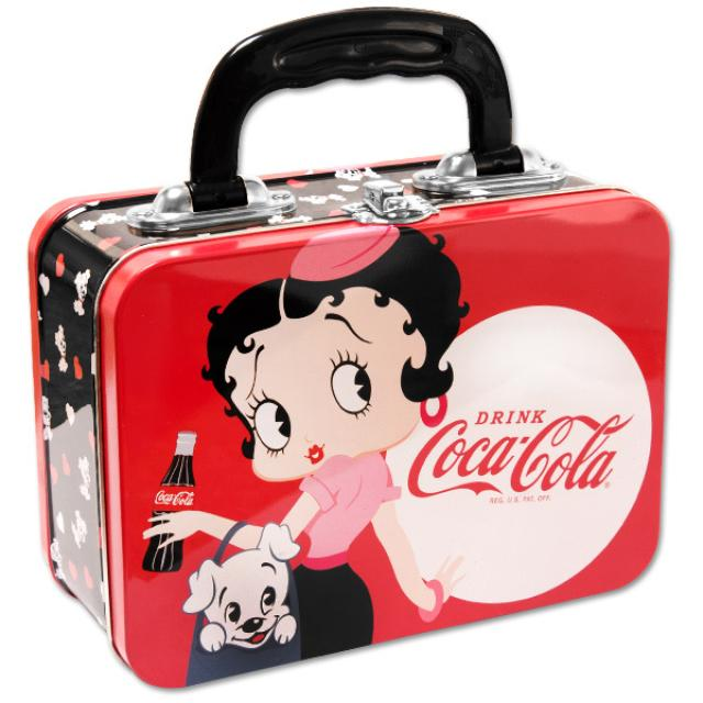 Betty Boop Coke Lunch Box