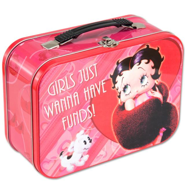 Betty Boop Red Large Lunch Box