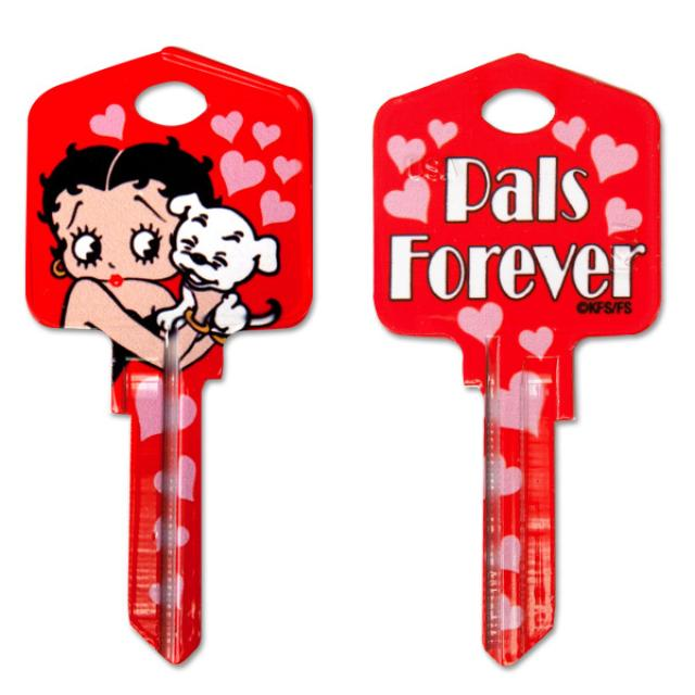 Betty Boop Pals Forever Kwikset House Key