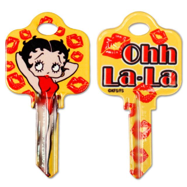 Betty Boop Ohh La La Schlage House Key