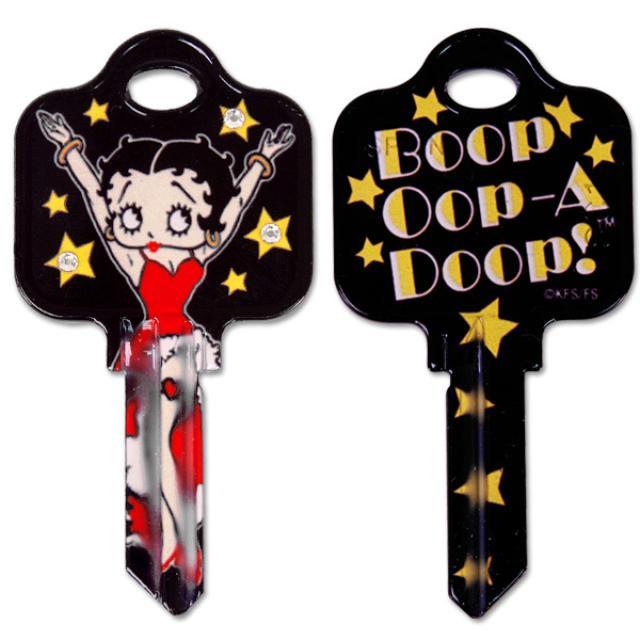 Betty Boop Oop A Doop Schlage House Key