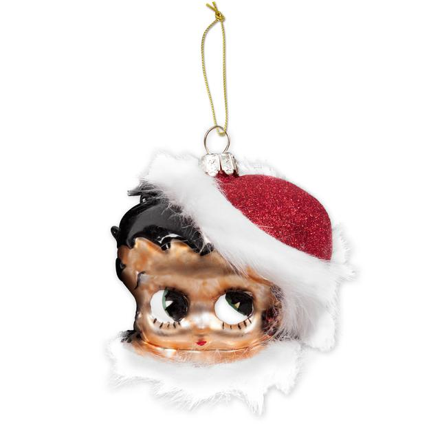 Betty Boop Glass Head Ornament