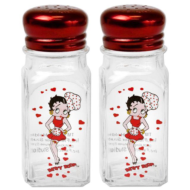 Betty Boop Hearts Salt & Pepper Shakers