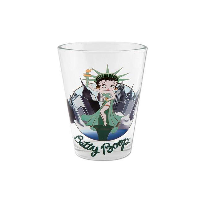 Betty Boop Liberty 1.5oz Shot Glass