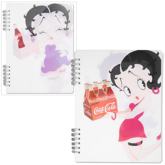 Betty Boop Coke Lenticular Spiral Notebook