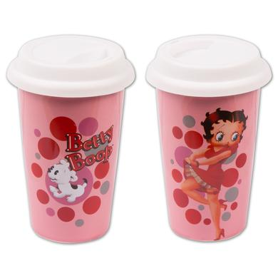 Betty Boop Dots Double Wall Travel Mug