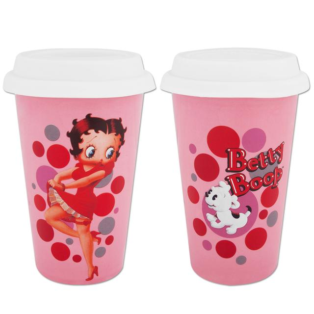 Betty Boop Double-Wall Travel Mug