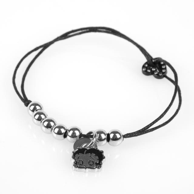 Betty Boop Cord Bracelet