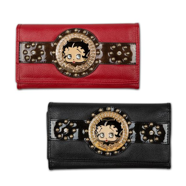 Betty Boop Face Wallet