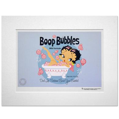 Betty Boop Bubbles 14inch x 11inch Print