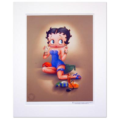 Betty Boop Sweet Scent 16inch x 20inch Print