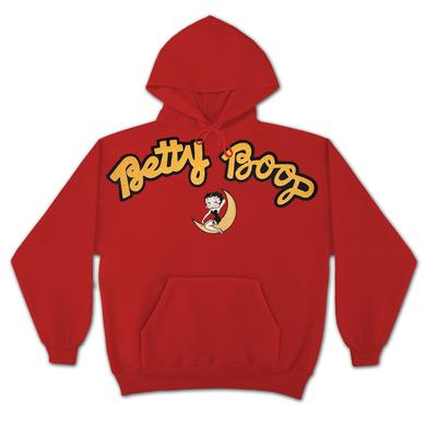 Betty Boop Moon Applique Hoodie