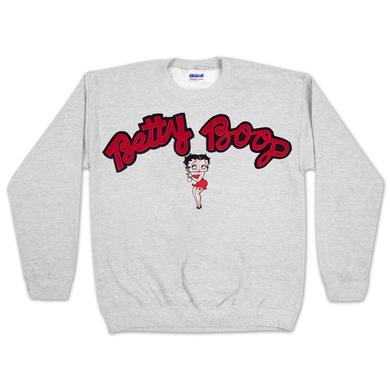Betty Boop Classic Applique Sweatshirt
