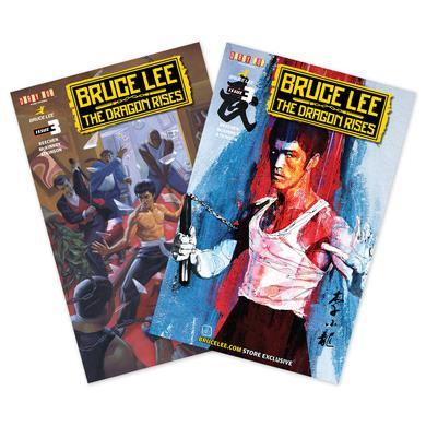 Bruce Lee The Dragon Rises Issue #3 – 2 Covers Bundle