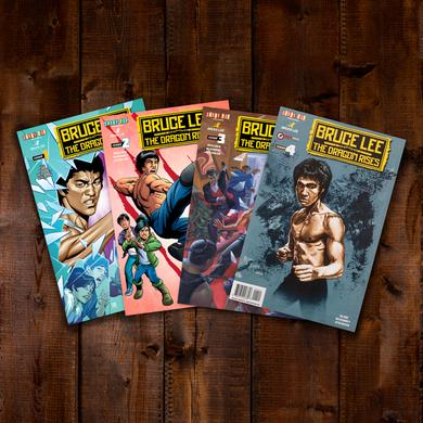 Bruce Lee: The Dragon Rises Issues 1-4 Bundle #1