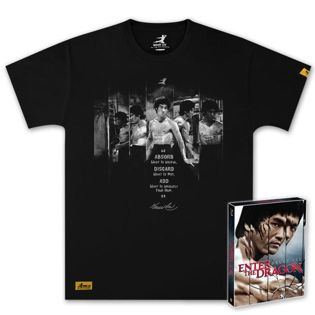 Bruce Lee 40th Anniversary Enter the Dragon BluRay and Exclusive T-Shirt Combo Pack