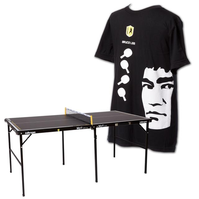 Bruce Lee Killerspin Table/T-Shirt Bundle