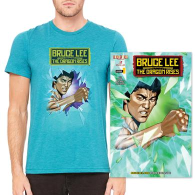 Bruce Lee The Dragon Rises Issue #1, Cover 3 and T-Shirt Bundle