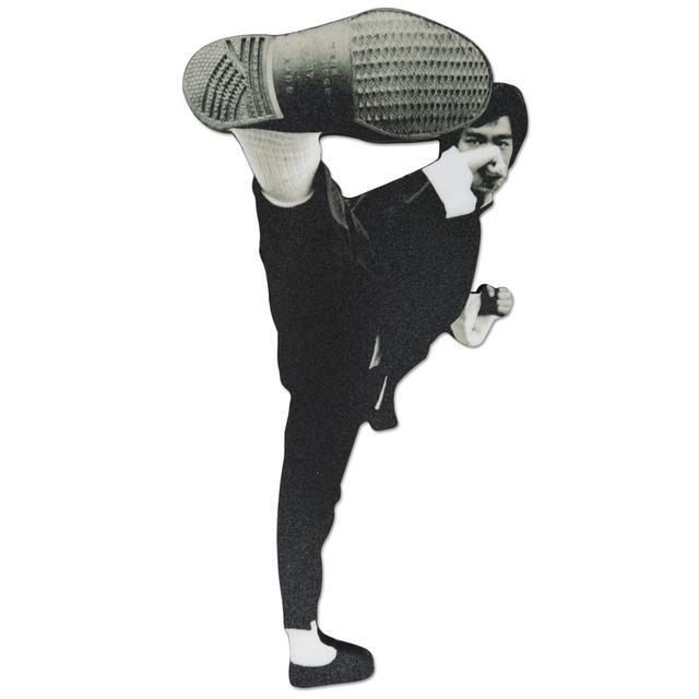 Bruce Lee Kick Fridge Magnet