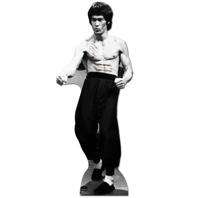 Bruce Lee In Action 70x26 Cardboard Standup