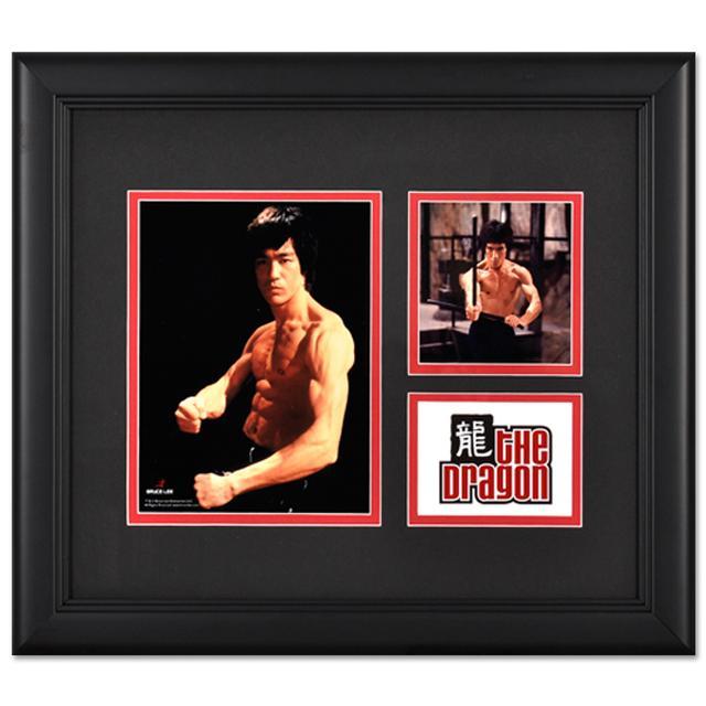 Bruce Lee Framed The Dragon #3 Presentation