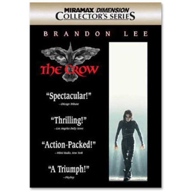 Bruce Lee Brandon Lee - The Crow DVD