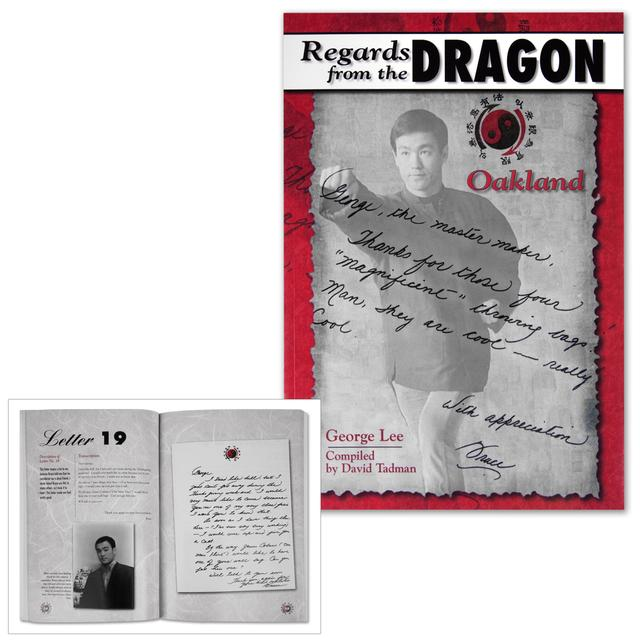 Bruce Lee Regards from the Dragon: Oakland Paperback Book
