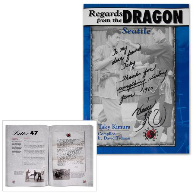 Bruce Lee Regards from the Dragon: Seattle Paperback Book