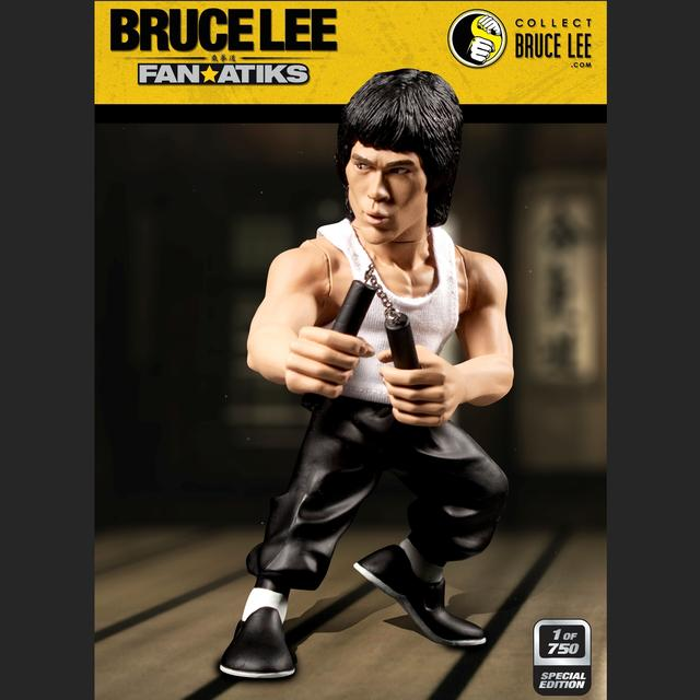 EXCLUSIVE LTD Edition Bruce Lee 6inch Tank & Nunchuck Figure