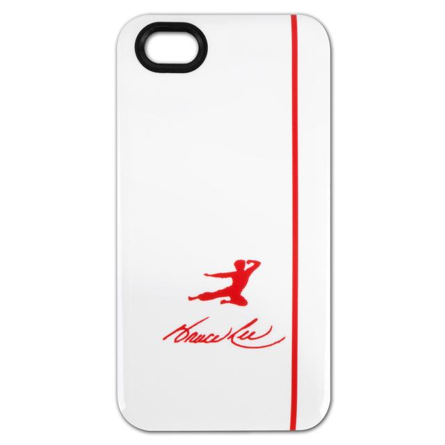 Bruce Lee Red Kick Logo iPhone 4/4S Case