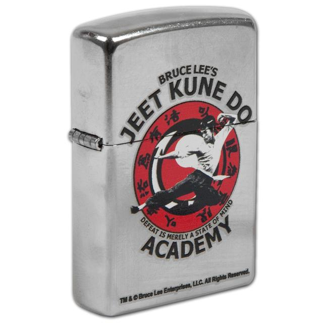 Bruce Lee Jeet Kune Do Street Chrome Zippo
