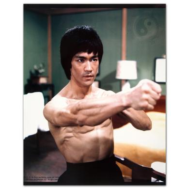 Bruce Lee Throwing Punch Photo