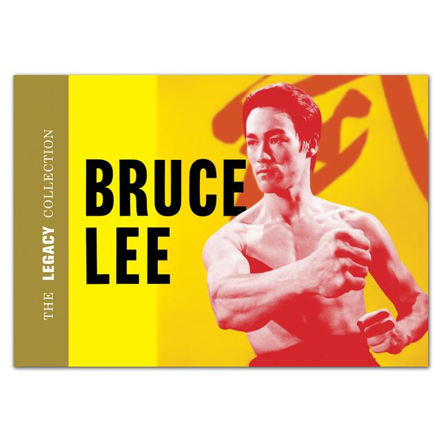 Bruce Lee Legacy Collection Book/DVD Set