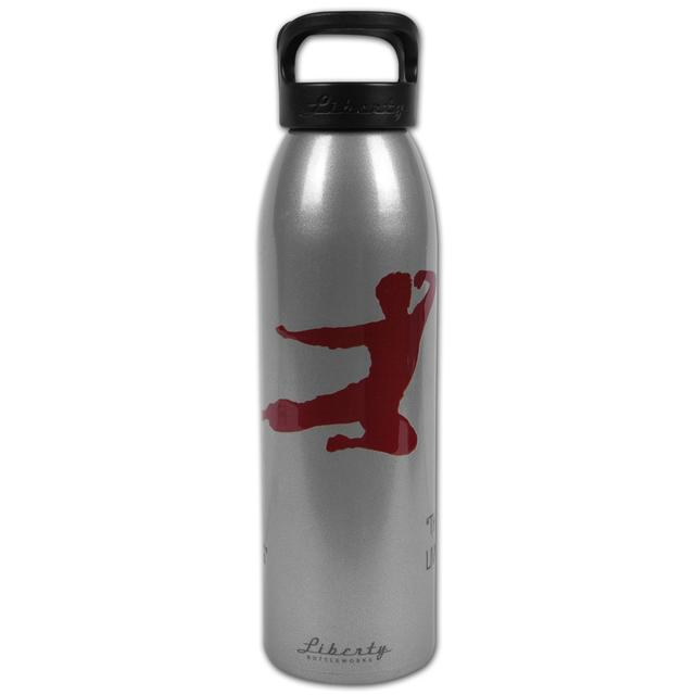Bruce Lee Flying Man Grey Liberty Bottle