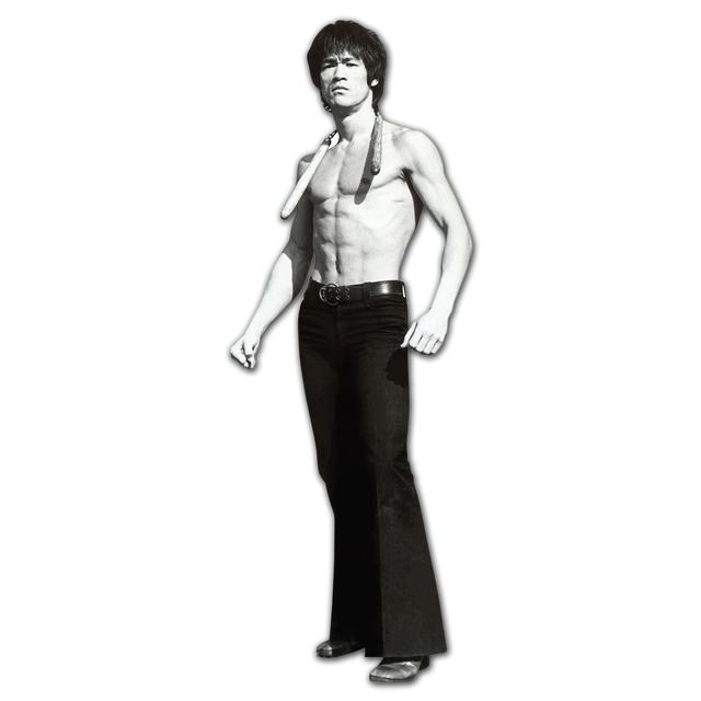 Bruce Lee Game 70x26 Cardboard Standup