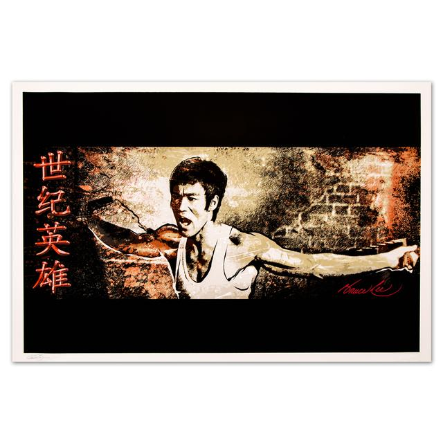 Bruce Lee 'Hero for the Ages' Fine Art Print (LTD Edition of 200)