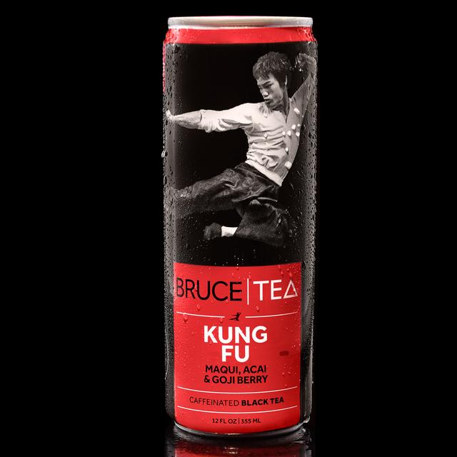 Bruce Lee Bruce Tea KUNG FU Blend (12 Cans)