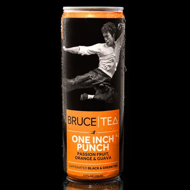Bruce Lee Bruce Tea ONE INCH PUNCH Blend (12 Cans)