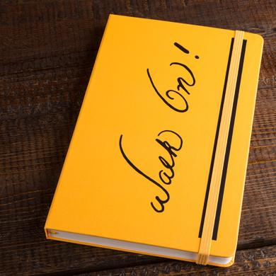 "Bruce Lee ""Walk On!"" Journal by Moleskine"