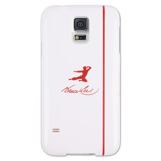 Bruce Lee Red Kick Logo Galaxy S5 Phone Case