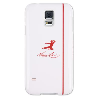 Bruce Lee Red Kick Logo Galaxy S5 Phone Case