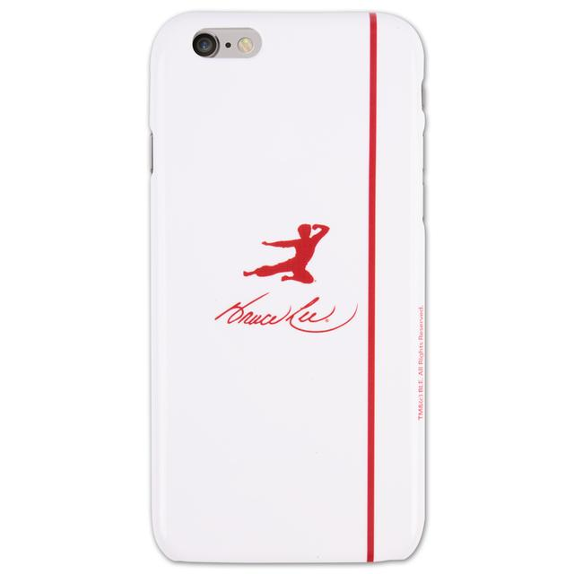Bruce Lee Red Kick Logo iPhone 6 Case