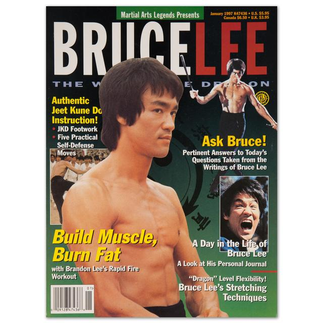 Bruce Lee Martial Arts Legends – Bruce Lee – January 1997