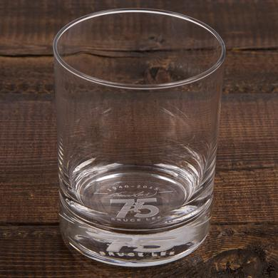 Bruce Lee 75th 13.5oz Etched Glass
